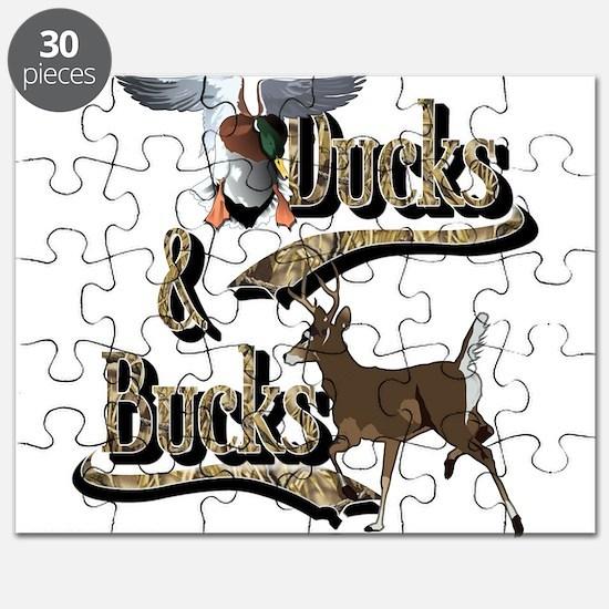 Ducks & Bucks Puzzle