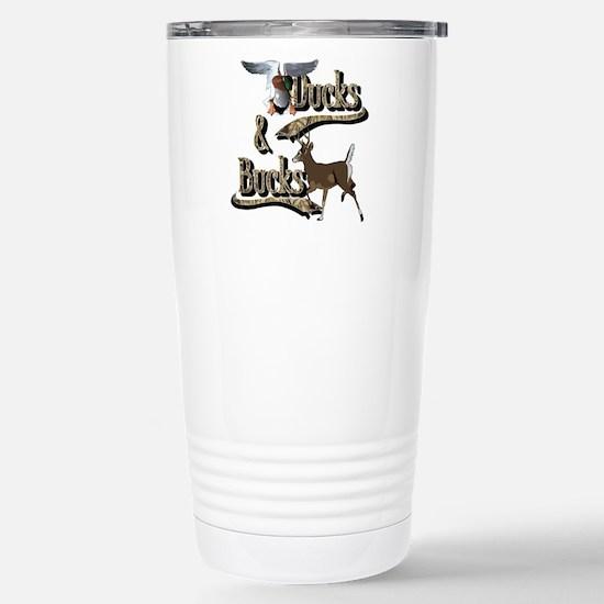 Ducks & Bucks Stainless Steel Travel Mug