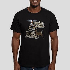 Ducks & Bucks Men's Fitted T-Shirt (dark)
