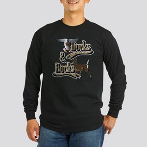 Ducks & Bucks Long Sleeve Dark T-Shirt