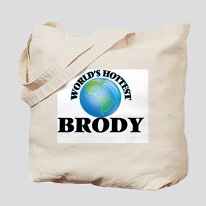 World's hottest Brody Tote Bag