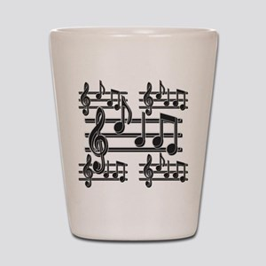 Musical Note Design Shot Glass