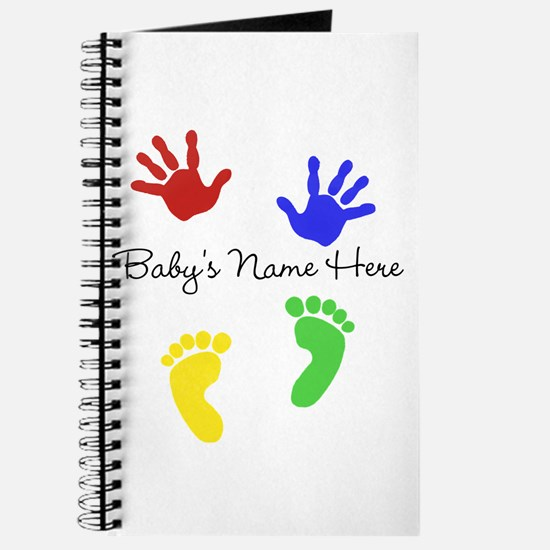 Babys Name Here Cute Design Journal