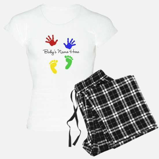 Babys Name Here Cute Design Pajamas