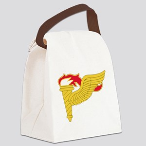 Army Pathfinder Insignia Canvas Lunch Bag