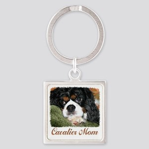 Cavalier Mom Keychains