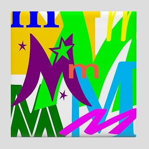 Initial Design (M) Tile Coaster