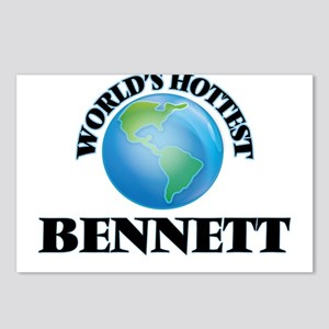 World's hottest Bennett Postcards (Package of 8)
