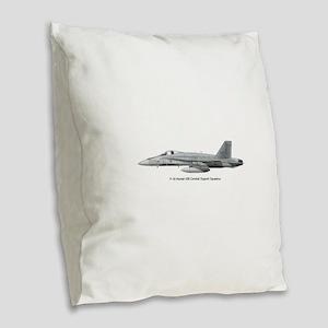 439print Burlap Throw Pillow