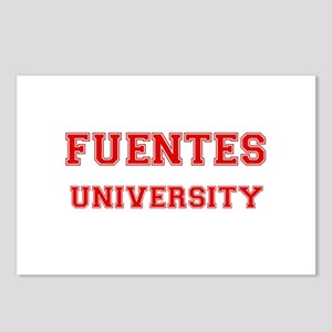 FUENTES UNIVERSITY Postcards (Package of 8)