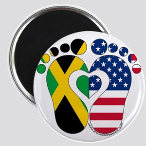 Jamaican American Baby Magnets
