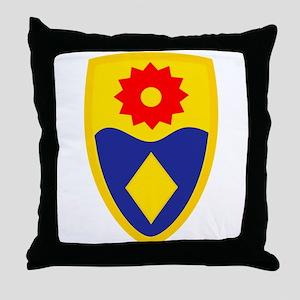 49th MP Brigade Throw Pillow