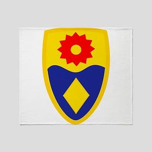 49th MP Brigade Throw Blanket