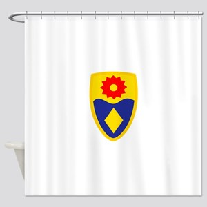 49th MP Brigade Shower Curtain