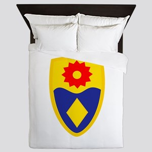 49th MP Brigade Queen Duvet