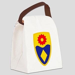 49th MP Brigade Canvas Lunch Bag