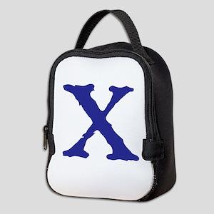 X Neoprene Lunch Bag