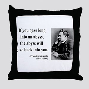 Nietzsche 9 Throw Pillow