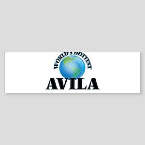 World's hottest Avila Bumper Sticker