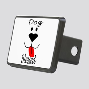 Dog Blessed Rectangular Hitch Cover