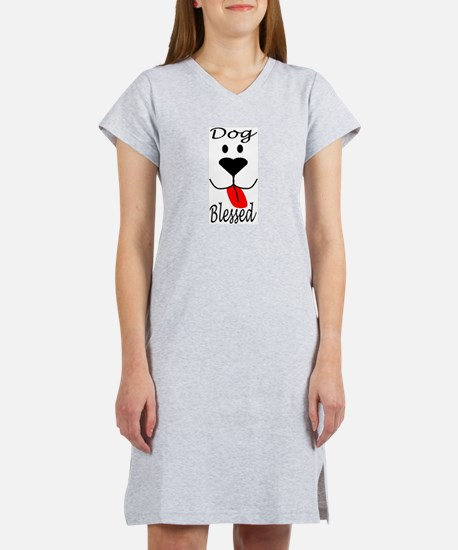 Dog Blessed Women's Nightshirt