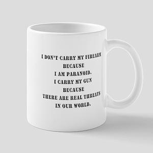 therearerealthreats Mugs