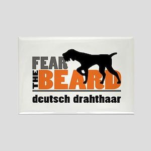 Fear the Beard - Deuts Rectangle Magnet (100 pack)