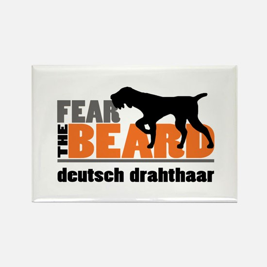 Fear the Beard - Deuts Rectangle Magnet (100 pack)
