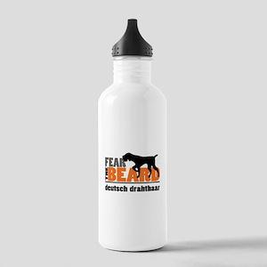Fear the Beard - Deuts Stainless Water Bottle 1.0L