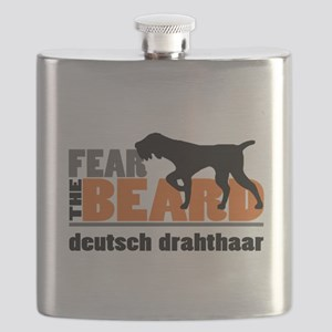 Fear the Beard - Deutsch Drahthaar Flask