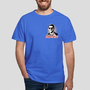 Reagan: Old School Conservative Dark T-Shirt