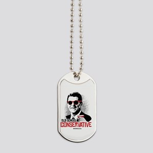 Reagan: Old School Conservative Dog Tags