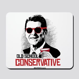 Reagan: Old School Conservative Mousepad