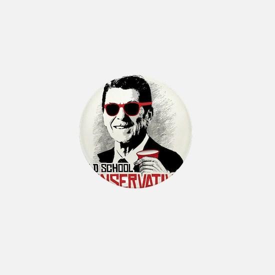 Reagan: Old School Conservative Mini Button