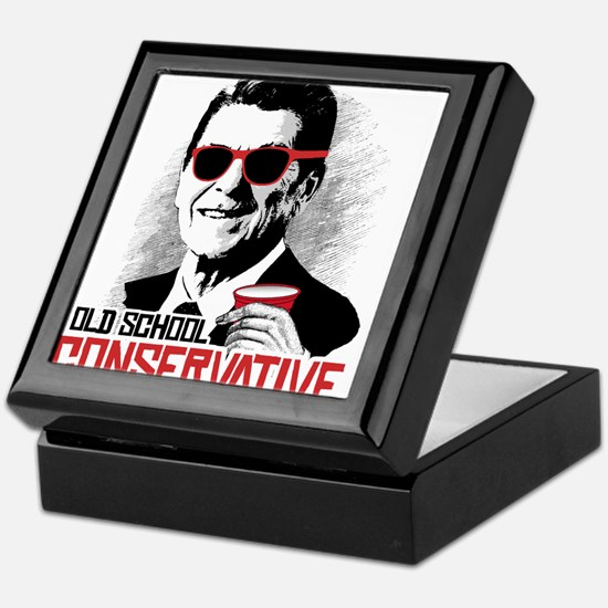 Reagan: Old School Conservative Keepsake Box