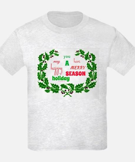 Holiday Message T-Shirt