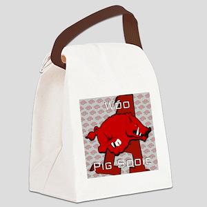 Woo Pig Sooie Canvas Lunch Bag