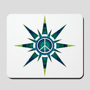 Solar Peace - Meditation Mousepad