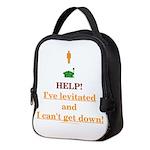 Help! I've Levitated! Neoprene Lunch Bag