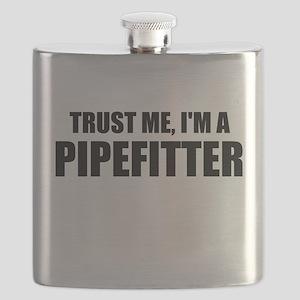 Trust Me, I'm A Pipefitter Flask