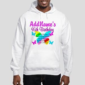 BLESSED 95TH Hooded Sweatshirt