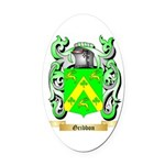 Gribbon Oval Car Magnet