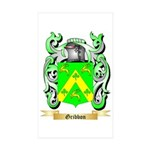 Gribbon Sticker (Rectangle 50 pk)