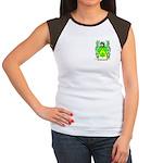 Gribben Women's Cap Sleeve T-Shirt