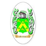 Gribben Sticker (Oval 50 pk)