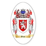 Grey Sticker (Oval)