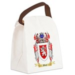 Grey Canvas Lunch Bag