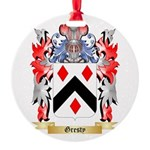 Gresty Round Ornament