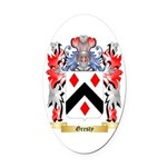 Gresty Oval Car Magnet