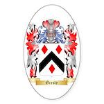 Gresty Sticker (Oval 50 pk)